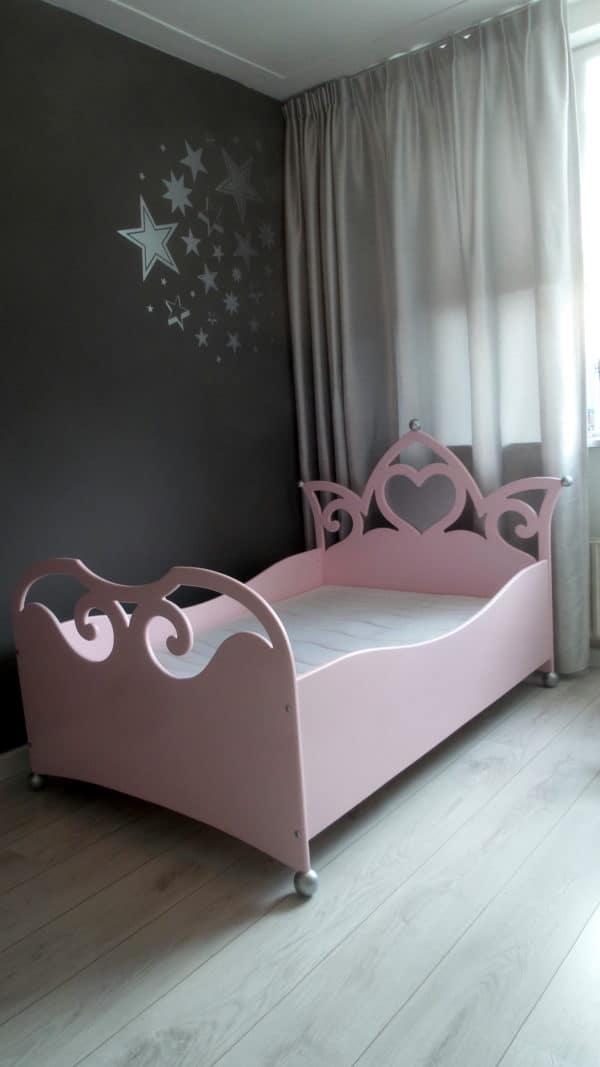 #1 prinsessenbed kinderkamer decoratie