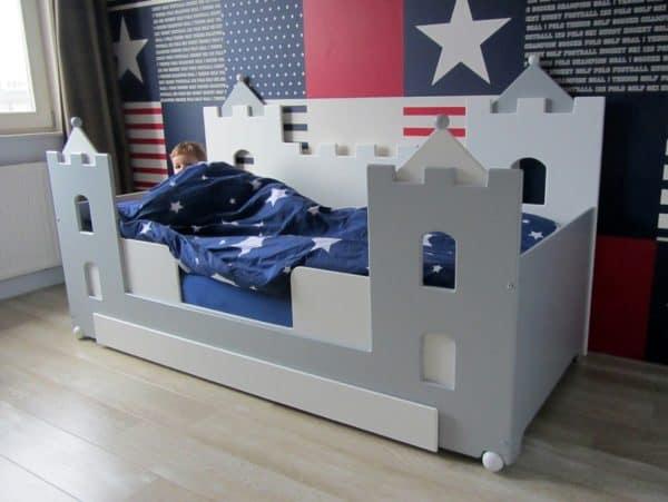 Kinderbed jongensbed kasteel