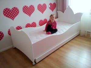 Kinderbed kroonbed 90x200 cm
