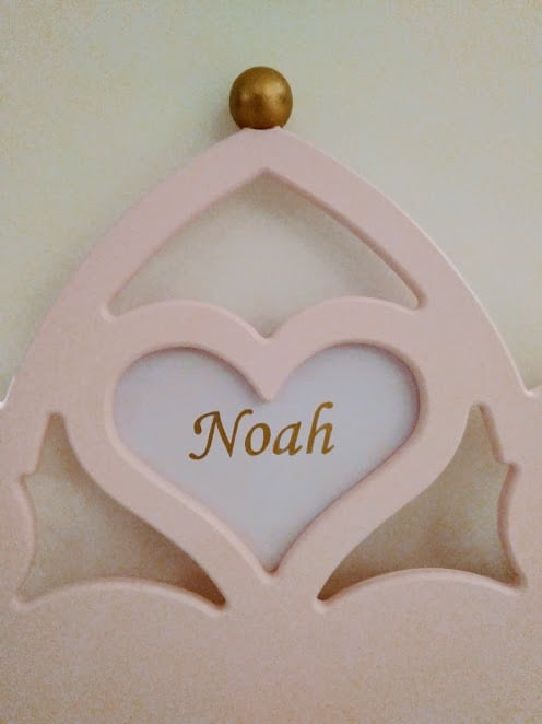 Prinsessenbed meisjesbed naam voorbeeld
