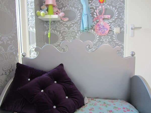 Kinderbed decoratie voor de kinderkamer, barok 90x200 cm