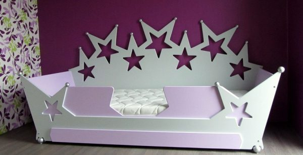 Kinderbed sterrenbed bank 90x200 cm