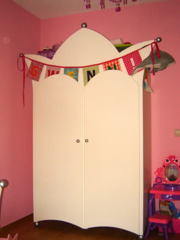 #6 kinderkast kinderkamer decoratie