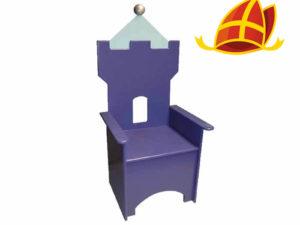 Sintcadeau kinderstoel kasteel blauw